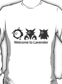 Welcome to Lavender Town T-Shirt