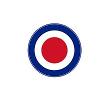Red white and  blue Roundel by erndub