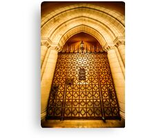 Chapel Gates Canvas Print