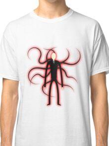 Slender Man - Red Glow Classic T-Shirt