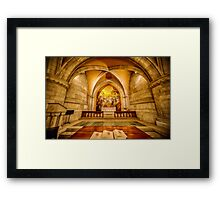 Cathedral Chapel Framed Print