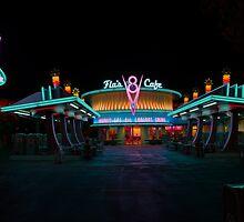 Flo's V8 Cafe @ Cars Land in Disney California Adventure! by Botts85