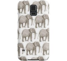 Cute elephants Samsung Galaxy Case/Skin