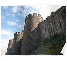 Conwy Walls Poster