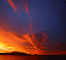 d'entrecasteaux sunrise. tasmania, australia by tim buckley | bodhiimages