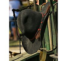 Cowboy Hat Photographic Print