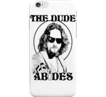 The Big Lebowski Dude Abides iPhone Case/Skin
