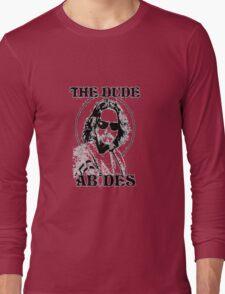 The Big Lebowski Dude Abides Long Sleeve T-Shirt
