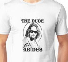 The Big Lebowski Dude Abides Unisex T-Shirt