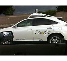 Mapspy Google car  Photographic Print