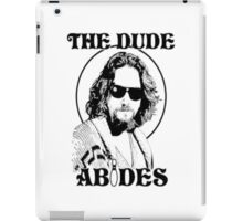 The Big Lebowski Dude Abides iPad Case/Skin