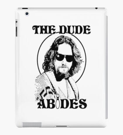 The Big Lebowski Dude Abides iPad Case/Skin