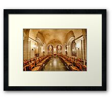 Cathedral Chapel II Framed Print