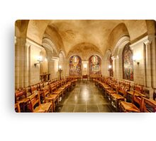 Cathedral Chapel II Canvas Print