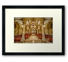 Cathedral Chapel IV Framed Print