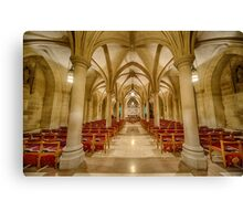 Cathedral Chapel IV Canvas Print