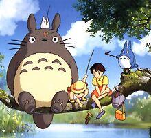 Totoro by fujin-chan