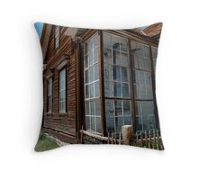 Park Headquarters in Bodie Throw Pillow