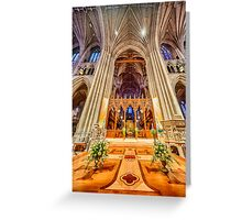 Magnificent Catheral VII Greeting Card