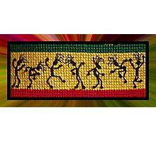 og lively reggae dancers Photographic Print