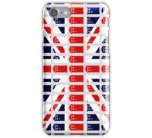 Phone Box British Flag by Hannah Rainwater iPhone Case/Skin