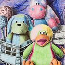 Stuffed Toy Still Life by jkartlife