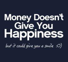 MONEY & HAPPINESS  Kids Tee