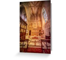 Glorious Chapel VI Greeting Card