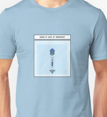 Break in case of EMERGENCY Unisex T-Shirt