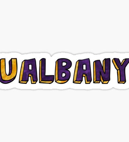 SUNY University At Albany Sticker