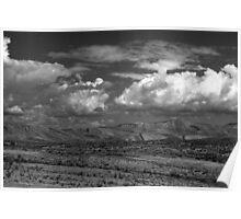 Utah Skyline Poster