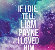 If I Die, Tell Liam Payne I Loved Him by stuff4fans