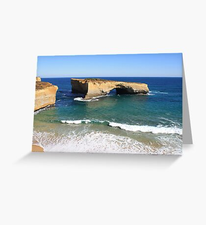 Bridge in Water Greeting Card