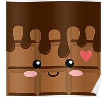 Cute Chocolate Poster