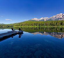 Patricia Lake and Pyramid Mountain, Jasper by Charles Kosina