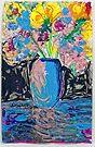 Flowers say it Best! by Diane  Kramer