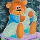 Baby Bear with Blanket by jkartlife