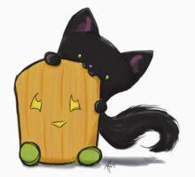 Halloween Kitty and Pumpkin Mallow by mallowkitty