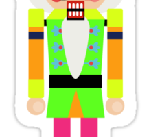 NEON NUTCRACKER  Sticker
