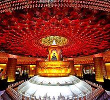 Inside Tianning Pagoda, Changzhou, Jiangsu by DaveLambert