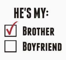 He's My Brother by UrALizardHarry