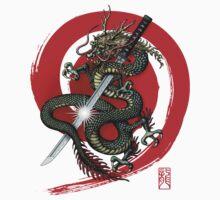 Dragon Katana4 One Piece - Long Sleeve