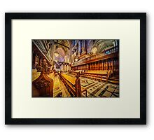 Magnificent Cathedral Framed Print