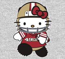 Hello Kitty Loves The San Francisco 49ers! by endlessimages