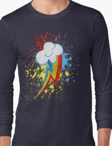 Rainbow Dash Cutie Mark Long Sleeve T-Shirt