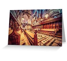 Magnificent Cathedral I Greeting Card