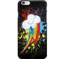 Rainbow Dash Cutie Mark iPhone Case/Skin