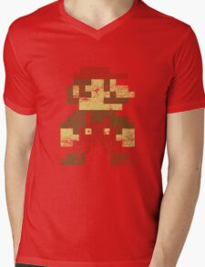Mario Mens V-Neck T-Shirt