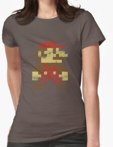 Mario Womens Fitted T-Shirt