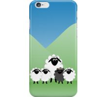 Cute Cartoon Sheep Family iPhone Case/Skin
